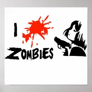I love kill zombies.jpg, child gun.jpg print