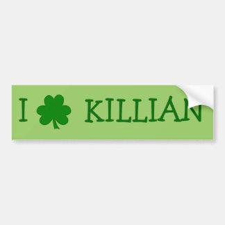I Love Killian Bumper Sticker