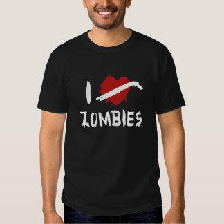 I Love Killing Zombies Shirt
