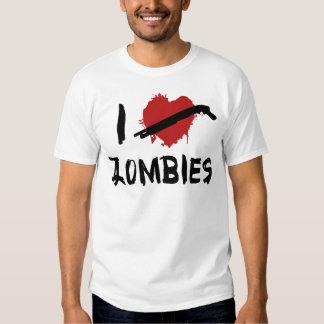 I Love Killing Zombies Tshirt