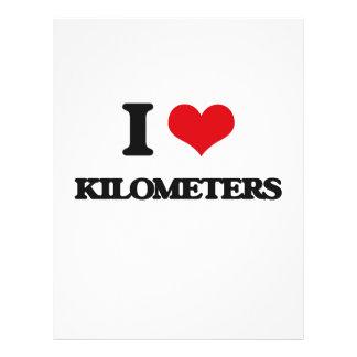 I Love Kilometers Flyer