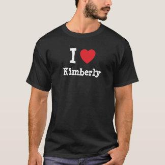 I love Kimberly heart T-Shirt