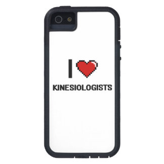 I love Kinesiologists iPhone 5 Cases