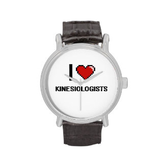 I love Kinesiologists Wrist Watches