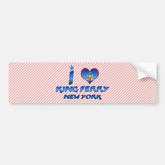 I love King Ferry, New York Bumper Stickers