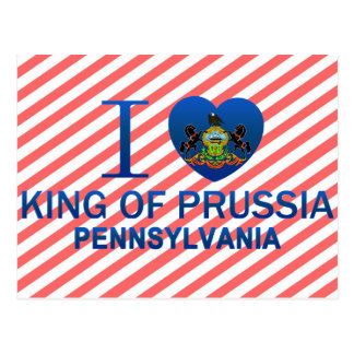 I Love King Of Prussia, PA Postcard