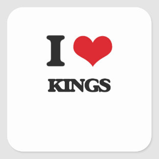 I love Kings Stickers