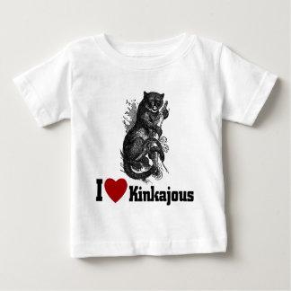 I Love Kinkajous Baby T-Shirt