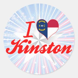 I Love Kinston, North Carolina Sticker