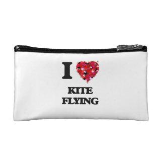 I love Kite Flying Cosmetics Bags