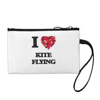 I love Kite Flying Coin Wallets