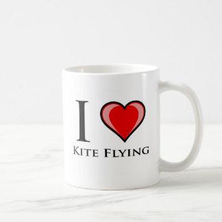 I Love Kite Flying Coffee Mug