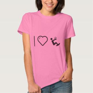 I Love Kitesurfings Tshirt