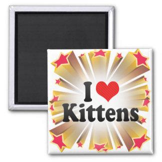 I Love Kittens Refrigerator Magnets