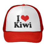 I Love Kiwi Cap