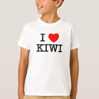 I Love KIWI ( food ) T-Shirt