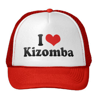 I Love Kizomba Cap