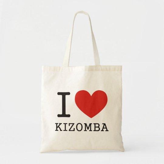 I love Kizomba Tote Bag
