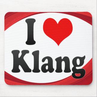 I Love Klang Malaysia Mouse Pad