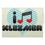 I Love Klezmer Cards