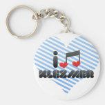 I Love Klezmer Keychain