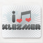I Love Klezmer Mousepads