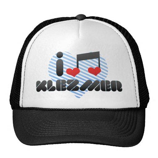 I Love Klezmer Trucker Hat