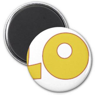 I Love Klomping 6 Cm Round Magnet