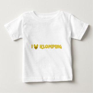 I Love Klomping T Shirt