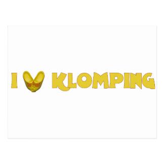 I Love Klomping Wenskaarten