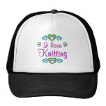 I Love Knitting Hat