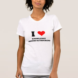I Love Knowledge Process Outsourcing Shirt