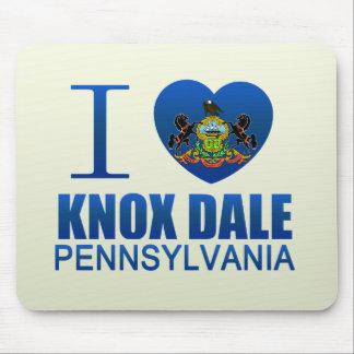 I Love Knox Dale, PA Mousepads