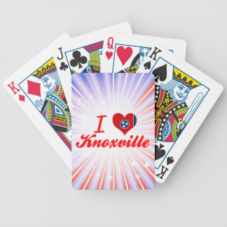 I Love Knoxville, Tennessee Deck Of Cards