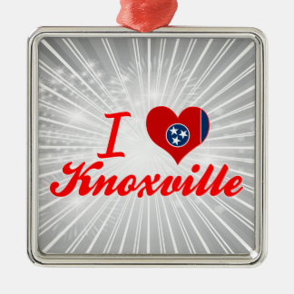 I Love Knoxville, Tennessee Christmas Tree Ornaments