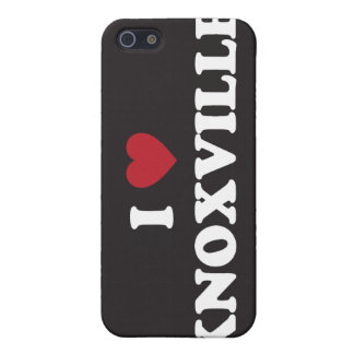 I Love Knoxville Tennessee Cover For iPhone 5