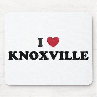 I Love Knoxville Tennessee Mouse Pad