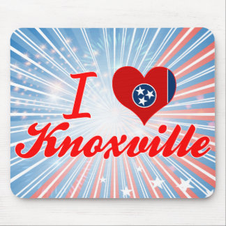 I Love Knoxville, Tennessee Mouse Pads