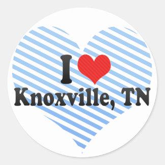 I Love Knoxville, TN Sticker