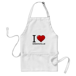 I LOVE KNOXVILLE,TN - TENNESSEE APRONS