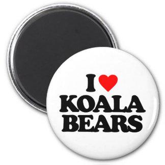 I LOVE KOALA BEARS FRIDGE MAGNETS