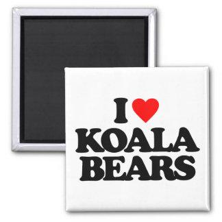 I LOVE KOALA BEARS REFRIGERATOR MAGNETS