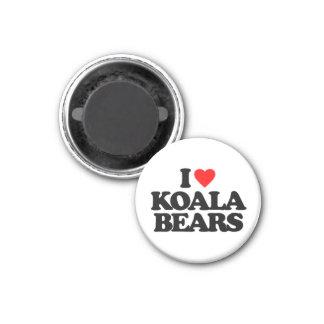 I LOVE KOALA BEARS REFRIGERATOR MAGNET