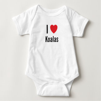 I love Koalas Baby Jumper Baby Bodysuit