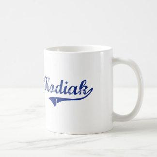 I Love Kodiak Alaska Basic White Mug