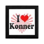 I love Konner Keepsake Box
