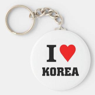 I love Korea Key Ring
