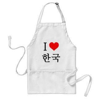 I love Korea Standard Apron