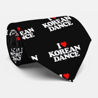 I LOVE KOREAN DANCE TIE