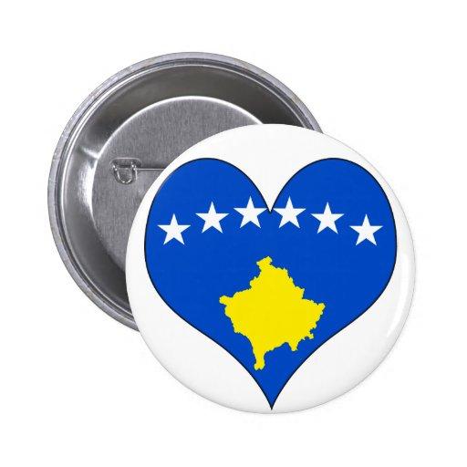 I Love Kosovo Islands Button
